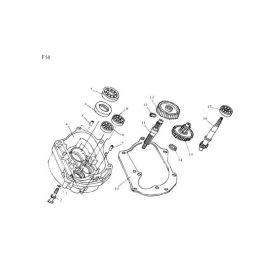 N°11 - Axe roue arrière
